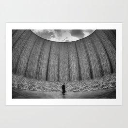 Wall O' Water Art Print