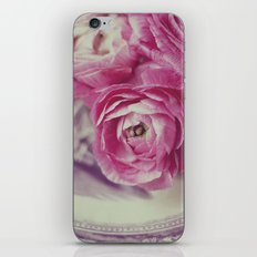 Pink Ranunculus  iPhone & iPod Skin