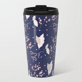 Spring Floral Pattern IX Travel Mug