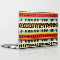 ethnic Laptop & iPad Skins featuring Ethnic by Katya Zorin