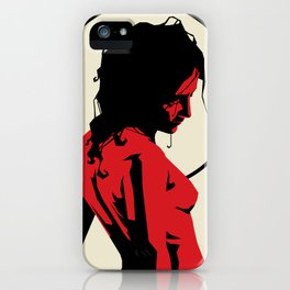 Witch of the sun iPhone Case