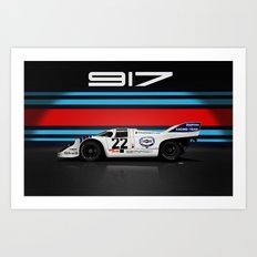 Porsche 917-053 1971 LeMans Winner Art Print