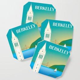 Berkeley, California - Skyline Illustration by Loose Petals Coaster