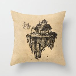 Floating Home Throw Pillow