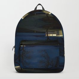 Reluctance At The Edge Of the Salt Flats Backpack