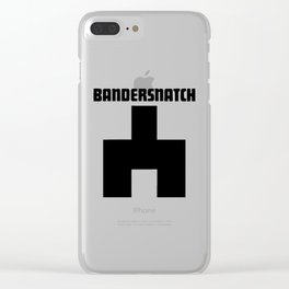 Black Mirror Bandersnatch Clear iPhone Case