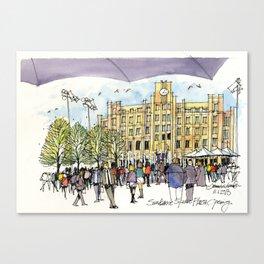 Sundance Square Plaza Opening Canvas Print