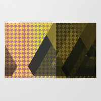 triangle Area & Throw Rugs featuring Triangle** by Mr and Mrs Quirynen