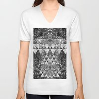 triangles V-neck T-shirts featuring TRIANGLES. by Council for design.