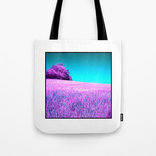 purple corn field II Tote Bag