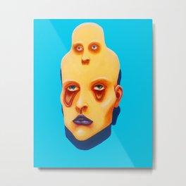 Headache Metal Print