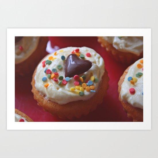 cupcakelove Art Print