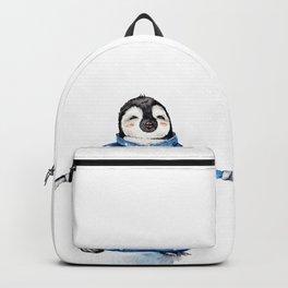 Baby Penguin in Onsie Backpack