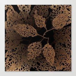 brown autumn Canvas Print