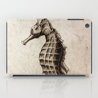 seahorse iPad Cases featuring Seahorse by Werk of Art