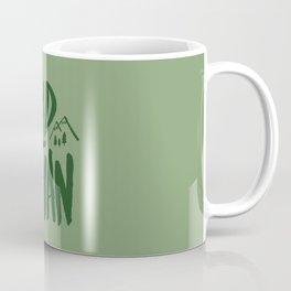 Wild Man x Green Coffee Mug