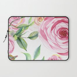 Roses Water Collage Laptop Sleeve