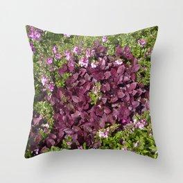 Groundcover Throw Pillow