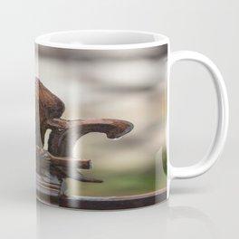Fluer De Lis - Iron Fluer De Lis with Raindrops in New Orleans French Quarter Coffee Mug