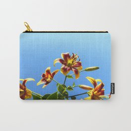 Lilies in the Sky Carry-All Pouch
