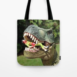 Welcome to Jurassic Park Tote Bag