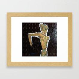 NUDE II ~ egon schiele by T'Mculus' Soul Framed Art Print