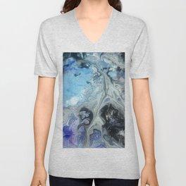 Blue Marble Unisex V-Neck