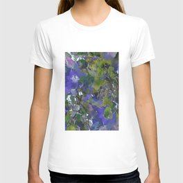 Violet Water Blossoms T-shirt