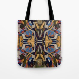 between the lions Tote Bag