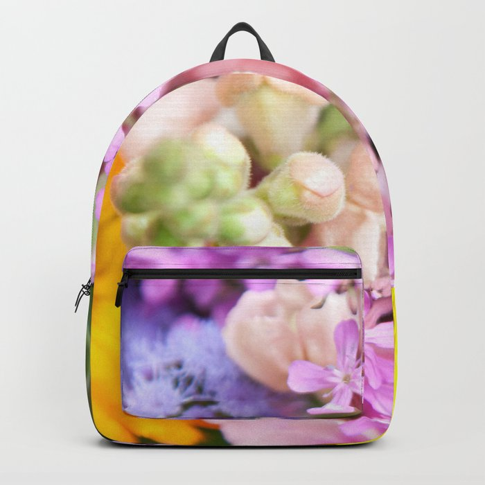 Colorful Summer Flowers #2 #decor #art #society6 Backpack