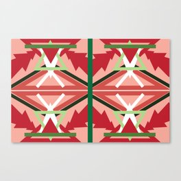 Holiday Pattern Canvas Print