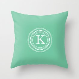 Circle of K Throw Pillow