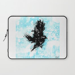 Raven in Motion Laptop Sleeve