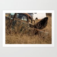 truck Art Prints featuring Truck by Woodler Photo