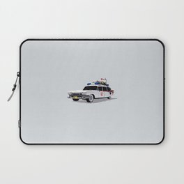 Ghostbusters Illustrated Ecto 1 Laptop Sleeve