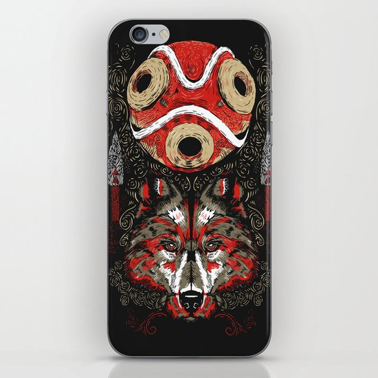 Mononoke Totem iPhone Skin