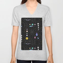 Witch Starter Kit: Astronomy - Illustration Unisex V-Neck