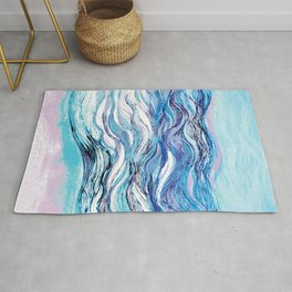 The ocean waves 2 Rug