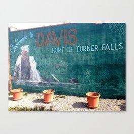 DAVIS Canvas Print