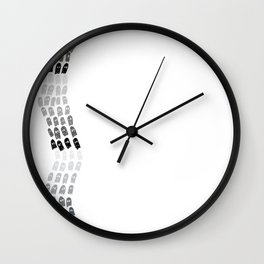 Ghost River Wall Clock