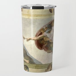 "Michelangelo ""Creation of Adam"" Travel Mug"