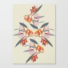2941-Eucalyptus4-Cream Canvas Print