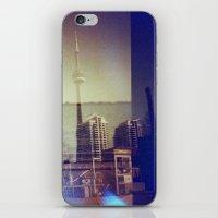 toronto iPhone & iPod Skins featuring Toronto by Jordan Osbourne