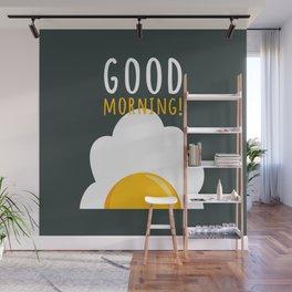 Good morning poster Wall Mural