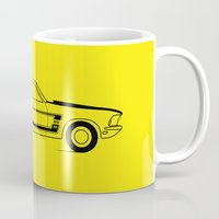 mustang Mugs featuring Mustang Boss by Adil Siddiqui