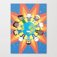 THE WORLD ROBOTIC Canvas Print