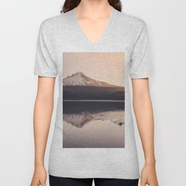 Wild Mountain Sunrise Unisex V-Neck
