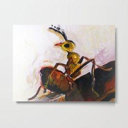 Tropical Ant Metal Print