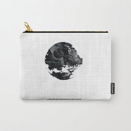 """A """"that's no Moon"""" shaped pool (IX) Carry-All Pouch"""
