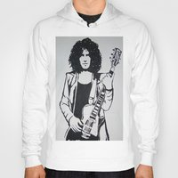 marc johns Hoodies featuring Marc Bolan by Kayt Hester Masking Tape